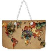 World Map Watercolor Painting 1 Weekender Tote Bag