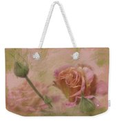 World Peace Roses With Texture Weekender Tote Bag