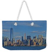 World Trade Center Painting Weekender Tote Bag by Dan Sproul