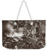 World War I Paris Bombed Weekender Tote Bag