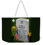 World War II Legend Weekender Tote Bag