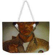 World War II Military Poster Are You Playing Square Weekender Tote Bag