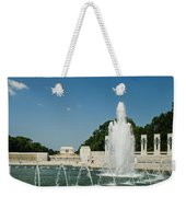 World War II Monument With Lincoln Monument Weekender Tote Bag