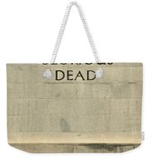 World War Two Our Glorious Dead Cenotaph Weekender Tote Bag