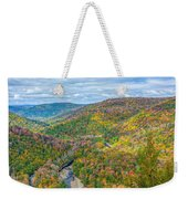 Worlds End State Park Lookout Weekender Tote Bag