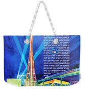 Worlds Fair 1962 Weekender Tote Bag