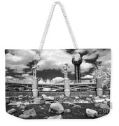 Worlds Fair Park In Knoxville - Infrared Weekender Tote Bag