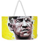 Worlds Greatest Athlete Weekender Tote Bag by Chris Mackie