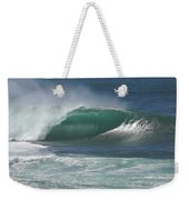 World's Most Perfect Wave . . . Weekender Tote Bag