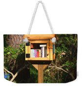 World's Smallest Library Weekender Tote Bag