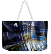 Wormhole Flaring Weekender Tote Bag