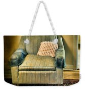 Worn Chair By Doorway Weekender Tote Bag
