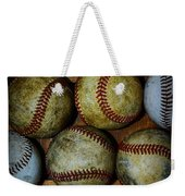 Worn Out Baseballs Weekender Tote Bag
