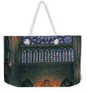 Worship In Notre Dame Weekender Tote Bag
