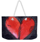 Wounded Heart Weekender Tote Bag