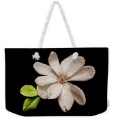 Wounded White Magnolia Wide Version Weekender Tote Bag