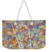 Woven Branches Long Weekender Tote Bag