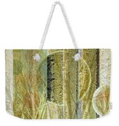 Woven Branches Weekender Tote Bag