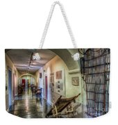 Woven Stretcher  Weekender Tote Bag by Adrian Evans