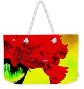 Wow Carnation Weekender Tote Bag