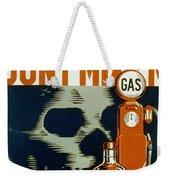 Wpa  Vintage Safety Poster Weekender Tote Bag