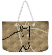 Wrapped Around Your Neck Weekender Tote Bag