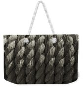 Wrapped Up Tight Sepia Weekender Tote Bag