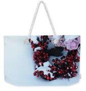 Wreathing Winter Sorrows Weekender Tote Bag