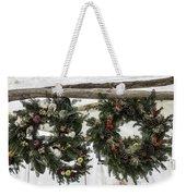 Wreaths For Sale Colonial Williamsburg Weekender Tote Bag