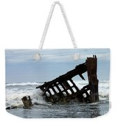 Wreck Of The Peter Iredale Weekender Tote Bag