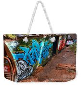 Wrecked British Columbia Train Weekender Tote Bag