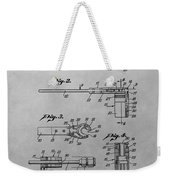Wrench Patent Drawing Weekender Tote Bag