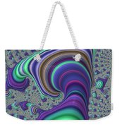 Wriggle Thru Time Weekender Tote Bag