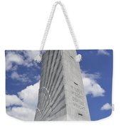Wright Brothers Memorial Weekender Tote Bag