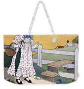Wright: Pussy Cat Weekender Tote Bag by Granger