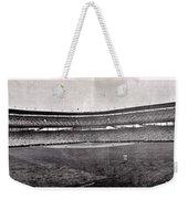 Wrigley Field 1929 Panorama Weekender Tote Bag by Benjamin Yeager