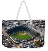 Wrigley Field Chicago Sports 02 Weekender Tote Bag by Thomas Woolworth