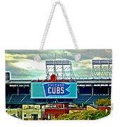 Wrigley Field Chicago Cubs Weekender Tote Bag