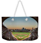 Wrigley Field Night Game Chicago Weekender Tote Bag