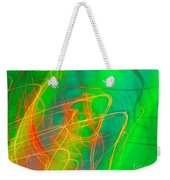 Write Light Rainbow Weekender Tote Bag