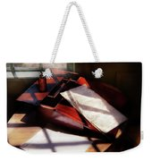 Writer - A Letter To My Brother  Weekender Tote Bag by Mike Savad