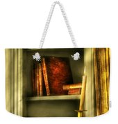 Writer - In The Library  Weekender Tote Bag
