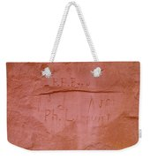 Writing In The Desert Weekender Tote Bag