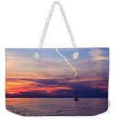 Writing In The Sky Weekender Tote Bag