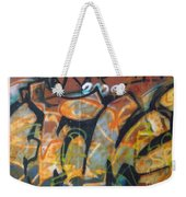 Writing On The Wall 1 Weekender Tote Bag