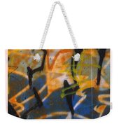 Writing On The Wall 3 Weekender Tote Bag