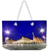 Wroclaw Poland Historical Market Square And The Town Hall Weekender Tote Bag