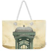 Wrong Train Right Station Weekender Tote Bag by Edward Fielding