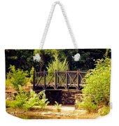 Wrought Iron Bridge Weekender Tote Bag