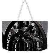 Wrought Iron Weekender Tote Bag